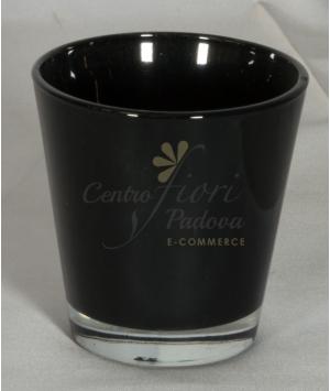 Vaso color nero