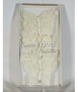 Farfalle bianche 6 pz