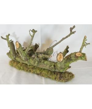 Objet pear wood base