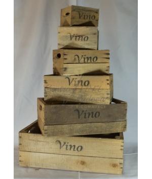 Box Vino Legno