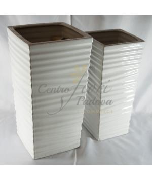 Vaso ceramica set 2pz