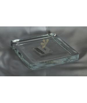Sottovaso vetro quadro