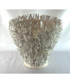 Vase Tea Twigs Cone
