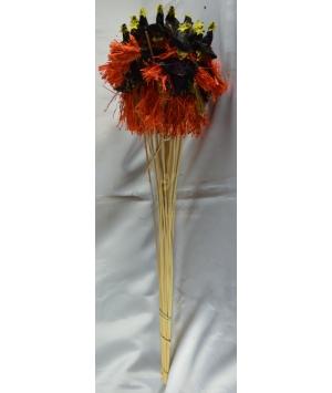 Stick Halloween Witch
