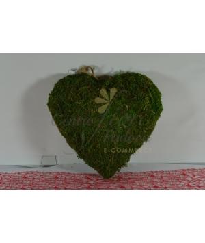 Hang Lawn Moss Heart