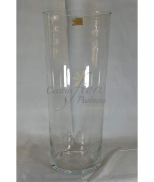 Vaso cilindro trasparente