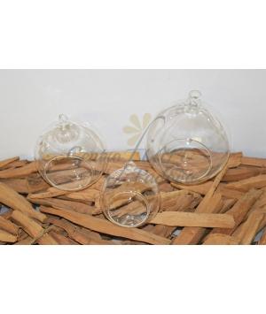 Glass Ball Tea Light