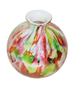 VASO COLLECTION BOLVASE WITH NECK MIXED COLOURS