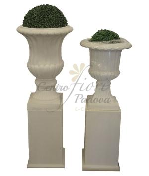 Colonna quadra fiberglass