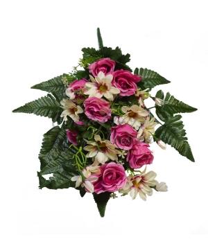 Bouquet frontale gerbera bocciolo x 18