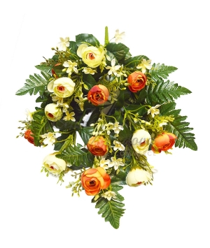 Bouquet frontale ranuncolo x 16