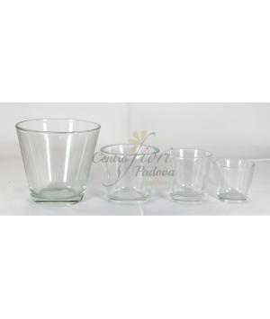 Vaso bicchiere Trasparente