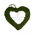 Hang Moss Heart Cuore Muschio